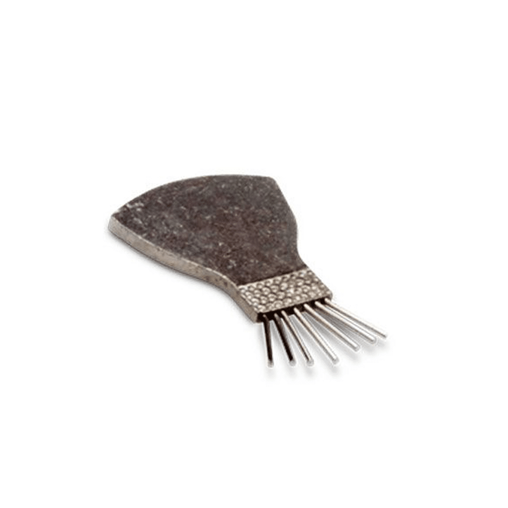 Matsuba Pine Brush, 30 x 19mm rounded end, 10mm prong end