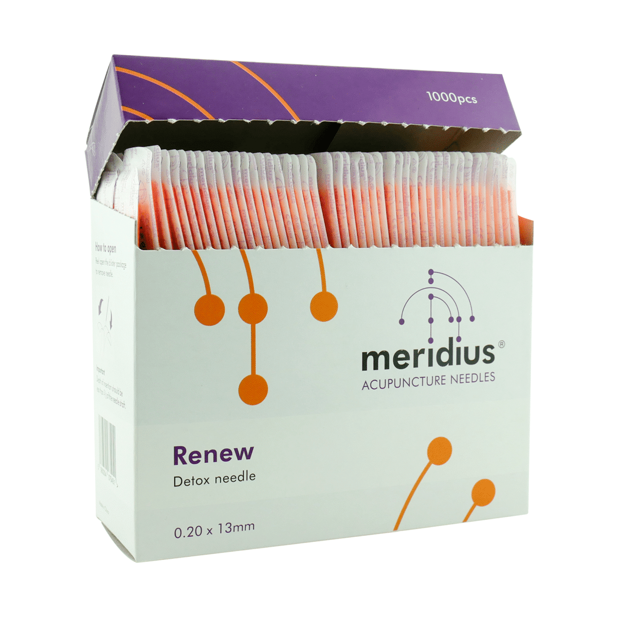 Meridius RENEW Detox Needles
