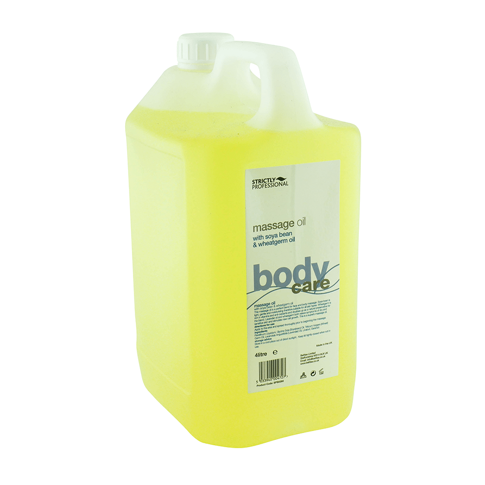 Strictly Professional Soybean & Wheatgerm Massage Oil 4000ml