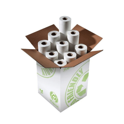 Box of 9 Standard White Couch Rolls