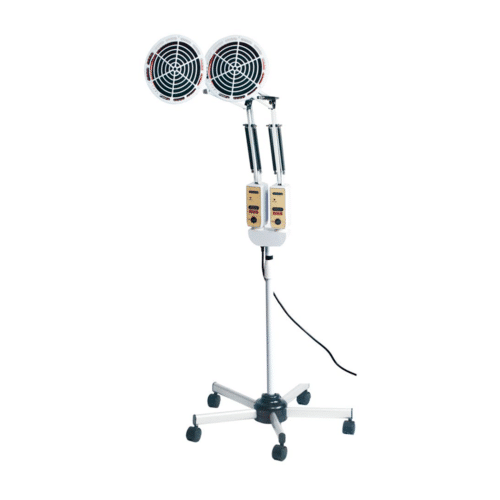 Double-Headed Floorstanding TDP Heating Lamp